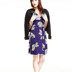 "DVF ""New Yahzi Short"" Wrap Dress"